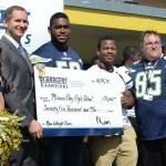 Chargers' Champion Donates 75k High School Weight Room