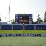 Ravens Practice At Navy-Marine Corps Memorial Stadium