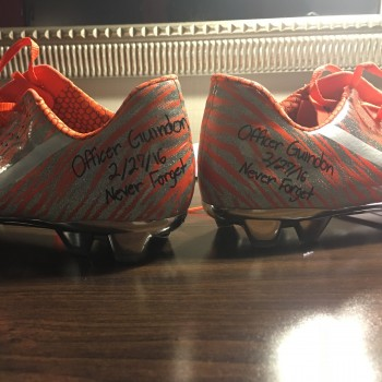 Maurice Canady - combine cleats