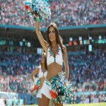 First International NFL Cheerleading Auditions hosted by Miami Dolphins